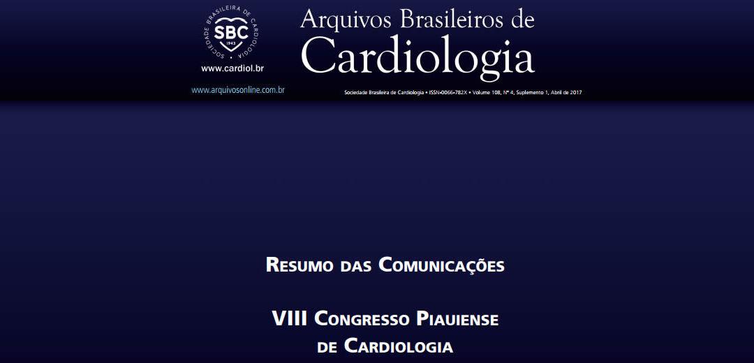 Todos os trabalhos classificados para o congresso foram publicados na Revista Arquivos Brasileiros de Cardiologia.
