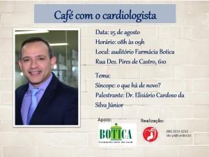 Café com o cardiologista agosto